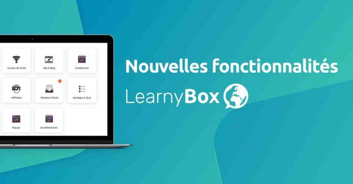 Créez, vendez et automatisez vos formations avec LearnyBox